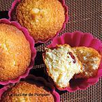 recette Muffin à la noix de coco et cranberries