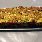recette terrine de courgette au thon