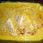 recette Filets de cabillaud piments vert, gingembre,lait de coco