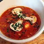 recette Soupe de tomates, gnocchis et saucisse italienne