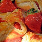 recette Petits paniers de fraises