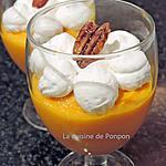 recette Mousse de carottes accompagnée d'une chantilly aux noix