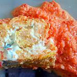 recette Roule aux carottes sauce poivron rouge