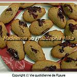 recette Madeleines au Philadelphia Milka