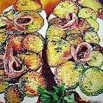 recette Tartines géantes méditerranéenne