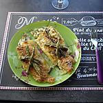 recette Cannelloni aux asperges vertes à la sauce béchamel au parmesan et gruyère