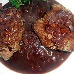 recette Pavé de rumsteack sauce beaujolaise