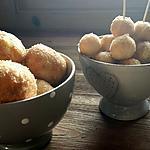 recette Pizza balls sucrés natures ou aux pommes