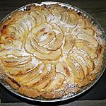 recette Tarte aux pommes à la crème pâtissière