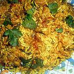 recette Biryani a l agneau et lentilles