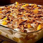 recette Tiramisu à l'ananas flambé au rhum,  éclats de spéculos