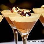 recette Mousses au chocolat et au spéculoos