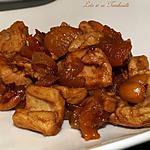 recette Sauté de dinde au sirop d'érable & abricots secs