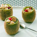 recette Kiwi aux pétoncles et aux groseilles