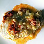 recette Filet de loup de mer à la crème de chorizo au micro-ondes