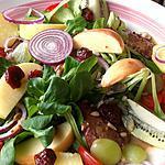 recette Salade de foies de volaille sucré salé
