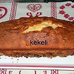 recette Cake à la crème fraîche et aux pépites de chocolat
