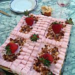 recette Gâteau souvenir aux  fraises   par Lauranou