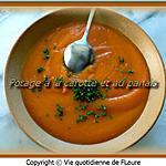 recette Potage à la carotte et au panais