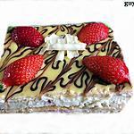 recette mille-feuilles crème chantilly mascarpone et fraises
