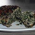 recette Pain de viande aux épinards