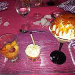recette Les trois desserts pour un instant  gourmandise   ...........par Lauranou