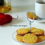 recette Sablé pistache et yuzu