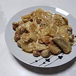 recette Poelèe d'endives et de champignons épicée