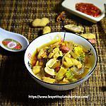 recette Bouillon chinois au poulet et aux épices