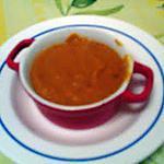 recette potage  carottes  butternut  persil