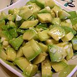 recette salade d'avocats