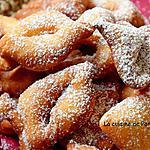 recette Oreillettes provençales parfumées à la fleur d'oranger