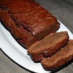recette Cake au chocolat avec l'aide d'un petit apprenti