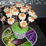 recette Les petites fleurs apéritives  ''  par  Lauranou  ''