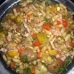 recette Ragout de pied de porc aux lingots du nord