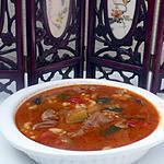 recette SOUPE CHORBA (SOUPE ALGERIENNE)