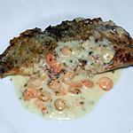recette Cabillaud sauce aux crevettes