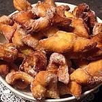 """recette Bugnes """"beignets de carnaval"""" """"mardis gras"""""""