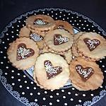 recette Sablés fourré au Nutella
