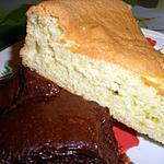 recette Gâteau de Savoie et sa mousse au chocolat