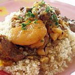 recette agneau de l'Atlas aux abricots secs (tajine)