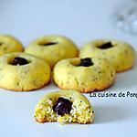 recette Biscuits aux graines de pavot garnis de ganache choco