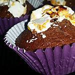 recette Muffins au chocolat et nougat de Montélimar