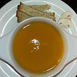 recette Soupe d'hiver au potiron