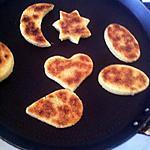 recette mini galette( kessera)
