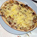 recette Tartine aux champignons de Paris