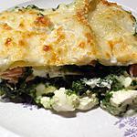 recette Lasagnes épinards, saumon et ricotta