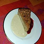 recette Crème vanillée-crème de coco