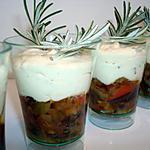 recette Verrines provençales