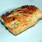 recette Saumon farci aux légumes et à la mozzarella